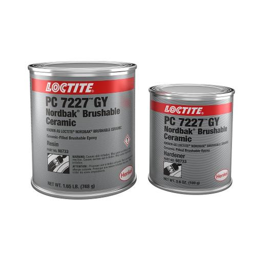 Henkel 98733 LOCTITE® PC 7227™ Nordbak® Gray Brushable Ceramic-Reinforced Epoxy - 0.91 Kg (2 lb) Kit