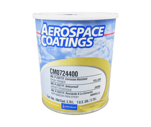 Sherwin-Williams® CM0724400 Yellow Corrosion Resistant Epoxy Primer - Gallon Can