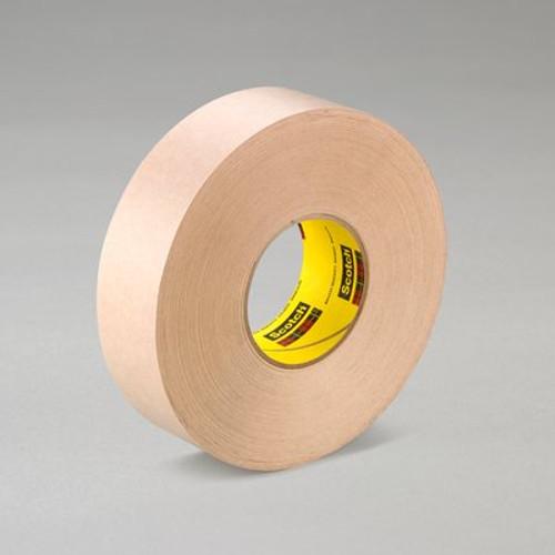 "3M™ 021200-05418 Scotch® 346 Tan 16.7 Mil Heavy-Duty Protective Tape - 12"" x 60 Yard Roll"