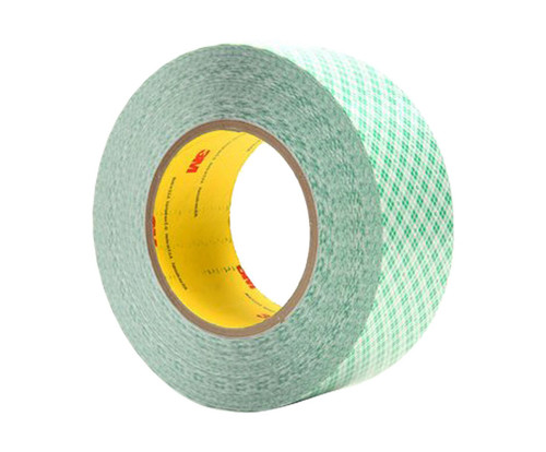 """3M™ 021200-23205 White 9589 Double 9 Mil Coated Film Tape - 1"""" x 36 Yard Roll"""