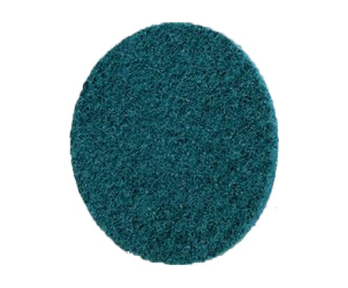 "3M™ 051131-07513 Scotch-Brite™ Roloc™ Blue 3"" Very fine Surface Conditioning Disc - 25 Discs/Case"