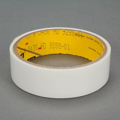 "3M™ 021200-24329 Scotch® 5430 Transparent 7.0 Mil Squeak Reduction Tape - 1"" x 36 Yard Roll"