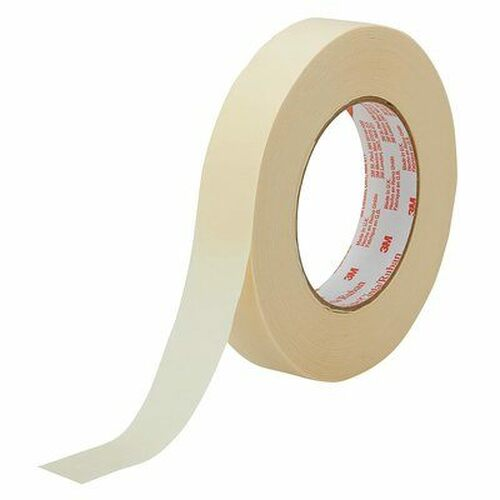 3M™ 021200-43351 Scotch® 2364 Tan 6.5 Mil Performance Masking Tape - 18 mm x 55 m Roll