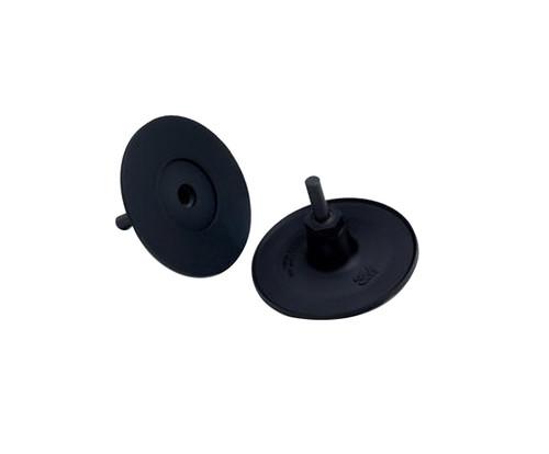 "3M™ 048011-33733 Roloc™ 3733 Black 3"" x 1/4"" Disc Pad Holder"