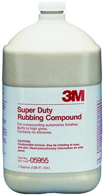 3M 051131-05955 Super Duty Rubbing Compound - Gallon Jug