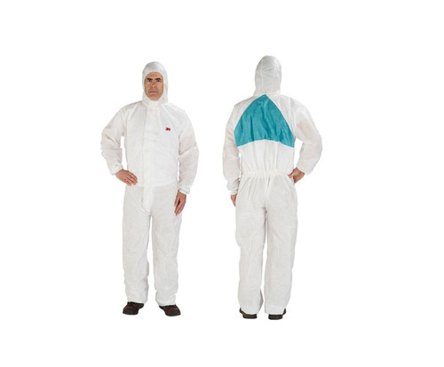 3M 051131-49796 Coverall Protective - XL - 25Cs - 4520-XL - Vented - Disposable