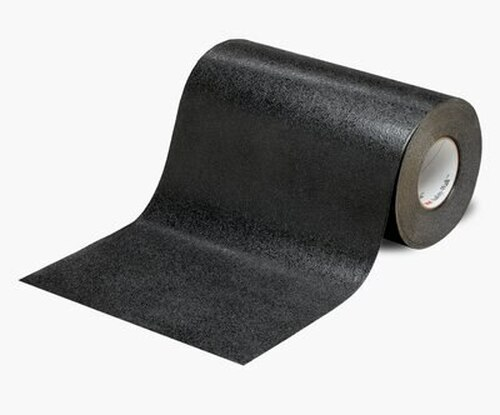 """3M™ 048011-19281 Safety-Walk™ 510 Black Slip-Resistant Conformable Tapes & Treads - 4"""" x 60' Roll"""