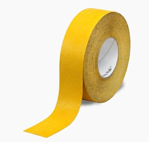 """3M™ 048011-19290 Safety-Walk™ 530 Yellow Slip-Resistant Conformable Tapes & Treads - 6"""" x 60' Roll"""