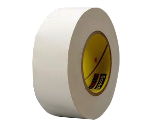 """3M™ 021200-03019 Scotch® 365 White 8.3 Mil Thermosetable Glass Cloth Tape - 3/4"""" x 60 Yard Roll"""