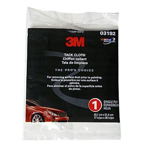 "3M™ 051144-03192 White 17"" x 36"" Tack Cloth"