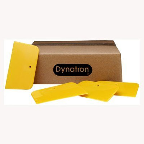 "3M™ 076308-00354 Dynatron™ 354 Yellow 3"" x 5"" Filler Spreader"