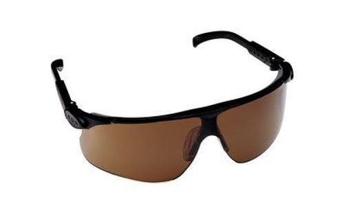 3M™ 078371-62233 Maxim™ 13251-00000-20 Black Temple Bronze Lenses Safety Glasses