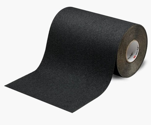 """3M™ 048011-19301 Safety-Walk™ 310 Black Slip-Resistant Medium Resilient Tapes & Treads - 36"""" x 60' Roll"""
