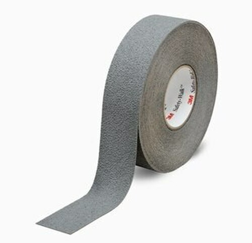 """3M™ 048011-19323 Safety-Walk™ 370 Gray Slip-Resistant Medium Resilient Tapes & Treads - 2"""" x 60' Roll"""