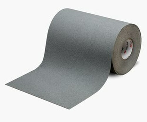 """3M™ 048011-19325 Safety-Walk™ 370 Gray Slip-Resistant Medium Resilient Tapes & Treads - 12"""" x 60' Roll"""