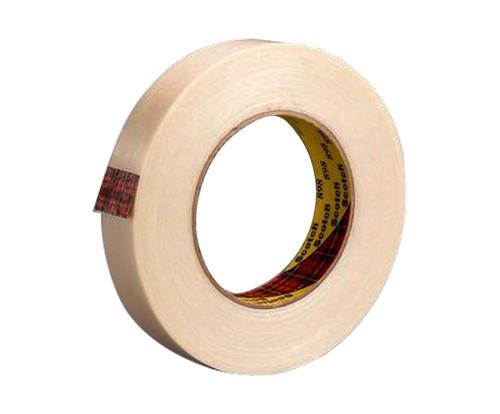 """3M™ 021200-74529 Scotch® 898 Clear 6.6 Mil Filament Tape - 1"""" x 60 Yard Roll"""
