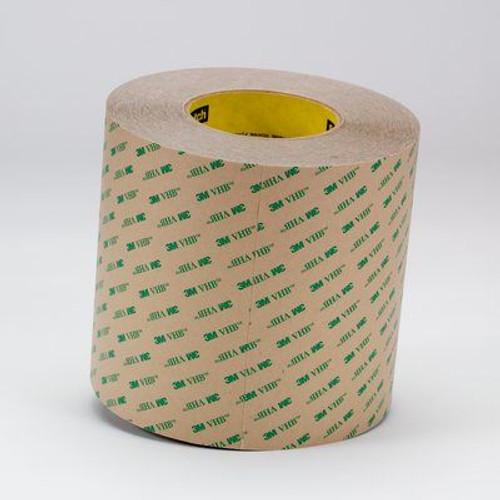 """3M™ 021200-13975 VHB™ F9460PC Clear 2 Mil Adhesive Transfer Tape - 0.75"""" x 60 Yard Roll"""