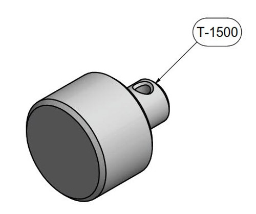 "Brackett Aircraft Company T-1500 Diamond DA-40 1.50"" OD Towbar Extender Adapter (2 Required)"