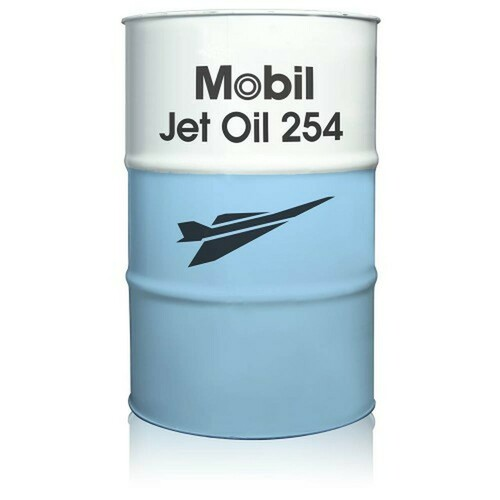 Mobil™ Jet™ Oil 254 Brown Synthetic Jet Engine Oil - 55 Gallon Drum