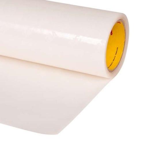 "3M™ 021200-24988 Transparent 8681 HS Polyurethane 14 Mil Protective Tape, Skip Slit - 3"" x 36 Yard Roll"
