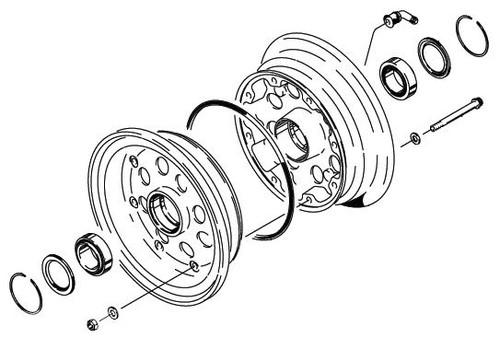 Cleveland Wheel & Brake 40-204 Wheel Assembly