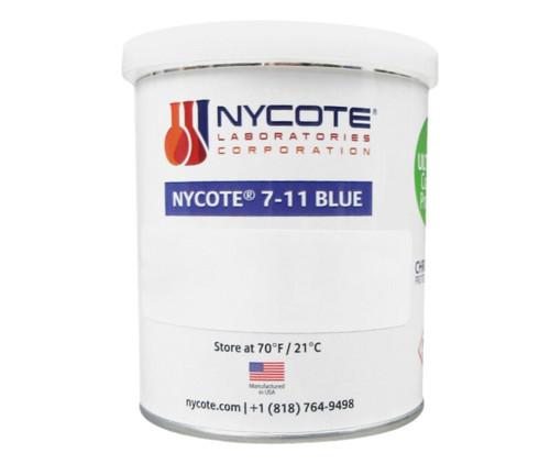 Nycote® 7-11BL-PT Blue Liquid Nylon Varnish - Pint Can