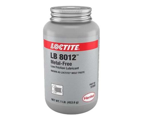 Henkel 51049 LOCTITE® LB 8012™ Metal Free Low Friction Lubricant - 453.6 Gram (1 lb) Bottle