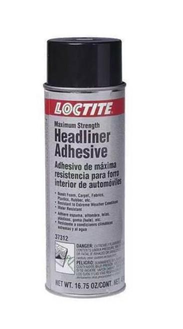 Henkel 37312 LOCTITE® MR 5426™ White Max Strength Headliner Adhesive - 297.6 Gram (16.75 oz) Aerosol Can