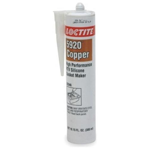 Henkel 82046 LOCTITE® SI 5920™ Copper Silicone Gasket Maker - 300 mL (10.15 oz) Cartridge