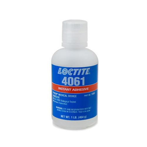 Henkel 18687 LOCTITE® 4061™ PRISM® Transparent Instant Adhesive - 454 Gram (1 lb) Bottle