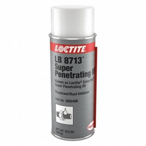 Henkel 81252 LOCTITE® LB 8713™ SOLVO-RUST® Clear Penetrating Oil - 347 Gram (12.25 oz) Aerosol Can