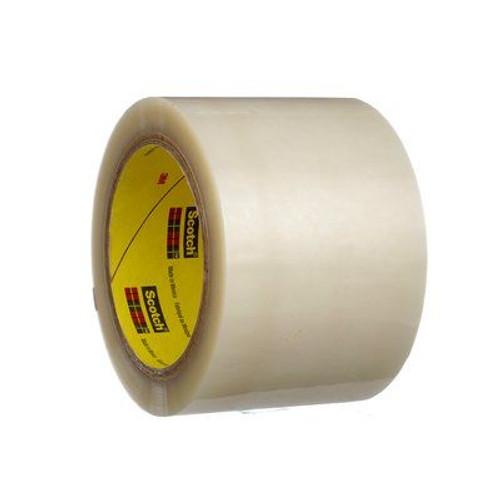 "3M™ 021200-03591 Scotch® 853 Transparent 2.1 Mil Polyester Film Tape - 3"" x 72 Yard Roll"
