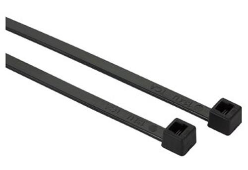 """HellermannTyton T30R0M4 Black 6"""" Cable Tie - 30 lb"""