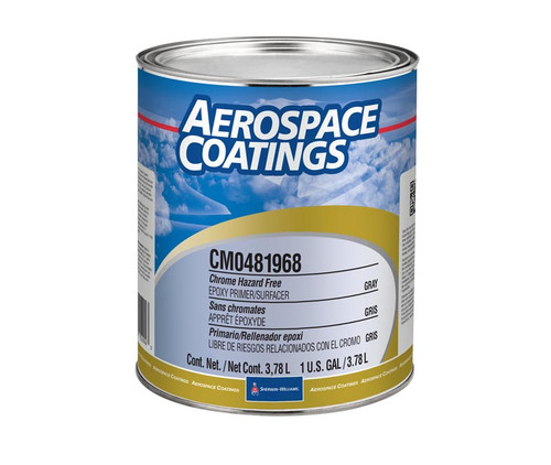 Sherwin-Williams® CM0481968 Gray High-Solids Chrome Free Epoxy Primer/Surfacer - Gallon Can