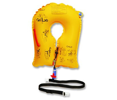EAM Worldwide P01202-101W Yellow UXF-35 Single-Cell Life Vest with Whistle