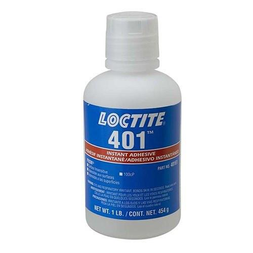 Henkel 40161 LOCTITE® 401™ PRISM® Clear Instant Adhesive - 454 Gram (1 lb) Bottle