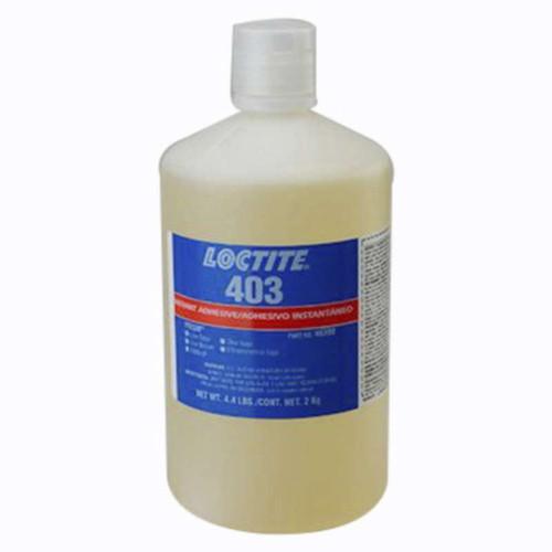 Henkel 40390 LOCTITE® 403™ PRISM® Low Odor Low Bloom Instant Adhesive - 2 Kg (4.4 lbs) Bottle