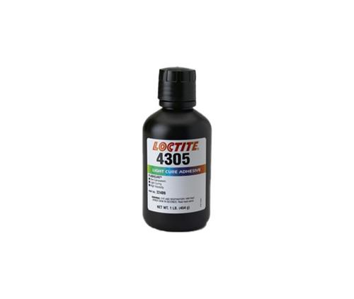 Henkel 32409 LOCTITE® 4305™ FLASHCURE® Green Light-Cure Cyanoacrylate Adhesive - 454 Gram (1 lb) Bottle