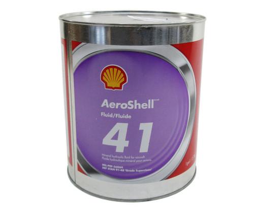 AeroShell™ Fluid 41 Mineral Aircraft Hydraulic Fluid - Gallon Can