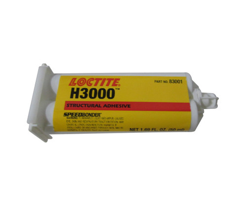 Henkel 83001 LOCTITE® AA H3000™ SPEEDBONDER® General Purpose Structural Adhesive - 50 mL (1.69 oz) Standard Cartridge