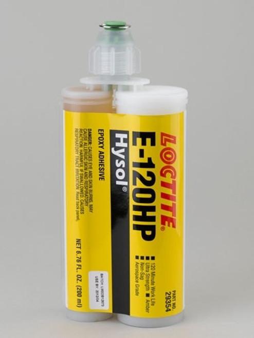 Henkel 29354 LOCTITE® EA E-120HP™ HYSOL® Ultra Strength Epoxy Adhesive - 200 mL (6.76 oz) Twin (Dual) Cartridge
