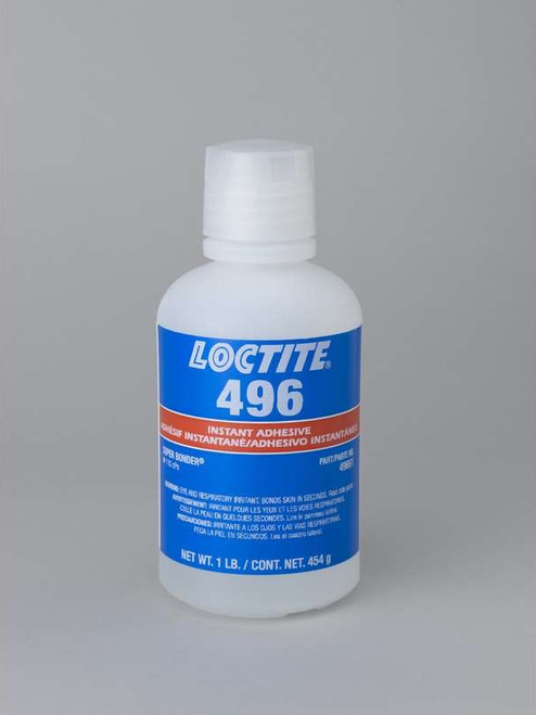 Henkel 49650 LOCTITE® 496™ SUPERBONDER® Instant Adhesive - 454 Gram (1 lb) Bottle