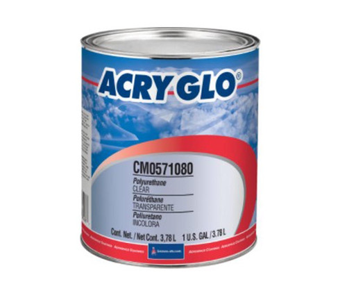 Sherwin-Williams® CM0571080 ACRY GLO® Clear Coat High-Solids Acrylic Urethane Paint - Gallon Can