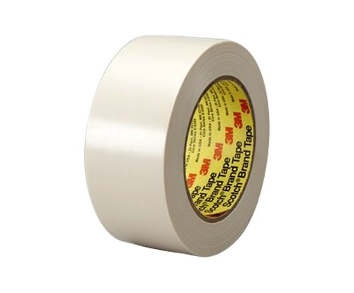 "3M™ 021200-86147 Scotch® 470 Tan 7.1 Mil Electroplating Tape - 1-1/2"" x 36 Yard Roll"