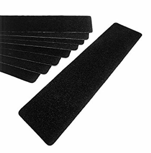 "3M™ 048011-19292 Safety-Walk™ 310 Black Slip-Resistant Medium Resilient Tapes & Treads - 6"" x 24"" - 50 per Case Treads"