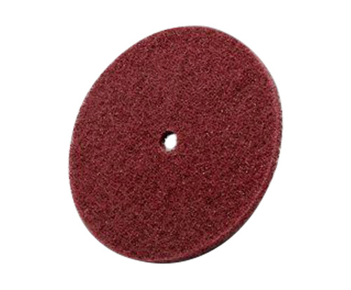 "3M™ 048011-04188 Scotch-Brite™ Red 6"" x 1/2"" HS-DC, A/O Medium Grade High Strength Disc"