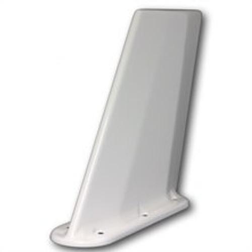 Artex 110-337 White Dual Input Tri-band Mach-1 Blade ELT Antenna - 121.5, 243 MHz & 406 MHz