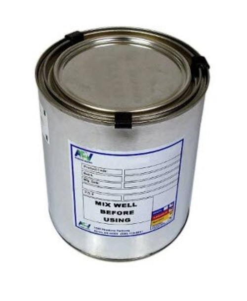APV® Engineered Coatings G-1124-01 Walkway™ FS 37875 White A-A-59166A Type 2/MIL-W-5044C Spec Non-Slip Walkway Compound - Quart Can