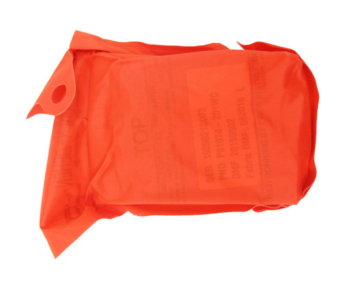 EAM Worldwide P01074-201WC Orange XF-35 Twin-Cell Crew Life Vest with Whistle