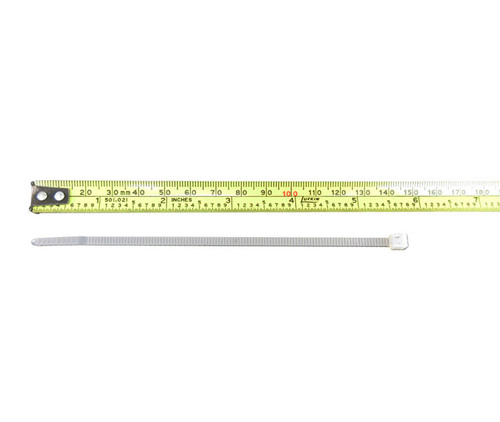 """HellermannTyton T30R9M4 Natural 5.8"""" Long UL Rated 30 lb Tensile Strength Cable Tie"""